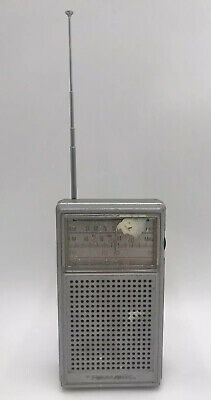 Realistic Radio Shack Mini Vintage Radio Made In Hong Kong