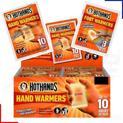 Hot Hands Hand Warmers (Up to 10 Hours Heat) Box of 24