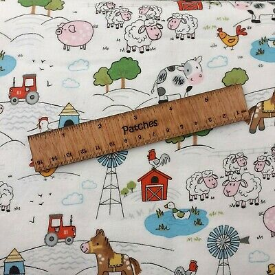 110cm Jungle Animals 100/% Brushed Cotton Flannel Fabric 44 inch 5 designs