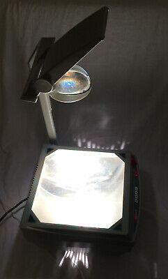 Apollo 3000 Overhead Projector Tabletop Model V3000 Tested Nice.