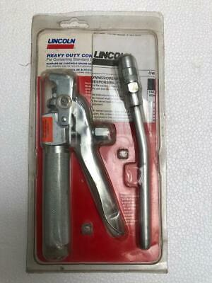 "Lincoln 6Y877 High Pressure Grease Gun Pistol Grip 6"" Extension Nozzle Uu"