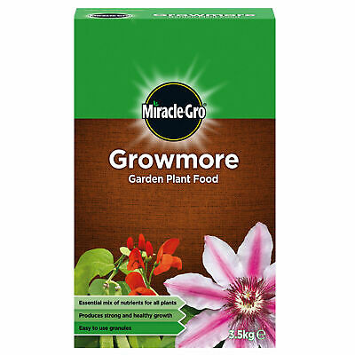 Miracle-Gro Growmore Garden Plant Food 3.5kg Fertiliser Strong Healthy Growth
