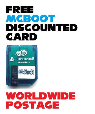 *DISCOUNTED* Free McBoot Memory Card / Latest Version 1.966 / 8MB / PS2 / FMCB