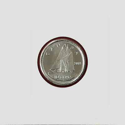 2019 Canada 10 Cents Brilliant Uncirculated From Set