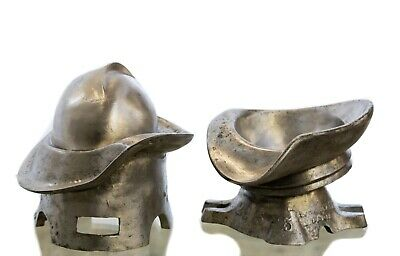 Antique Early 20th Century Industrial Art Deco Polished Aluminium Hat Former