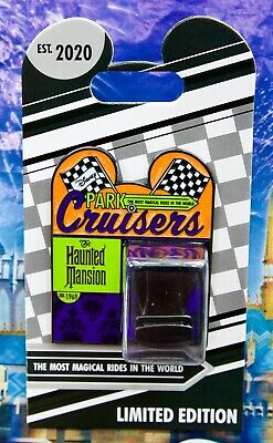 Disney Park Cruisers: Bi Monthly Haunted Mansion Doom Buggy Le 2000 Pin New /Oc