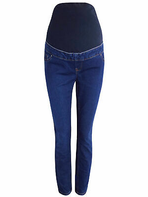 NEW LOOK Maternity Jeggings Over Bump Denim Leggings Size 8 - 20