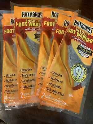 Hothands Insole Foot Warmer 9 Packs VNEW 9 Hours of Heat Warming