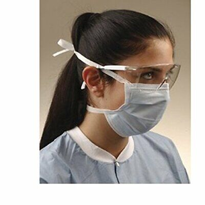 Authentic 50 PCS Disposable 3-Ply Face Mask Medical Surgical Dental Anti-Dust