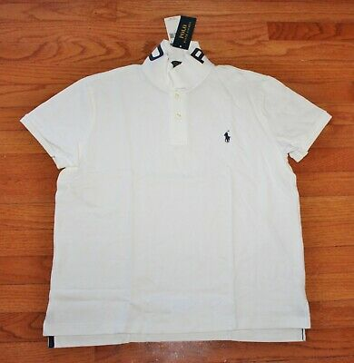 NEW NWT Womens Polo Ralph Lauren Pony Logo Classic Fit POLO Collar Shirt $79 *7T