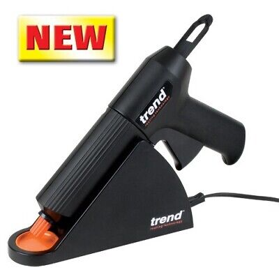 Trend T60 Cordless Glue Gun Heavy Duty Polyurethane Cartridge 20 Minute Worktime