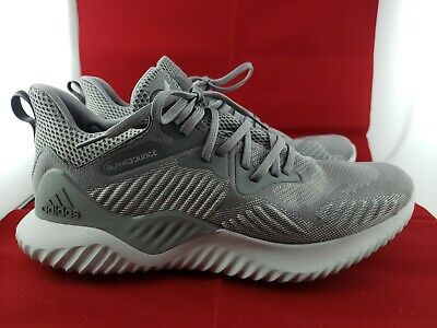 Adidas AlphaBounce Beyond Grey Running Shoes Men's US 10.5 (127)