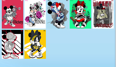 Topps Disney Collect Card Trader Look Book Complete Set of 7 - Award Ready