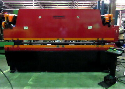 "100 Ton x 144"" ACCURPRESS  Model 710012 Hydraulic Brake Press, ETS Back Gauge"