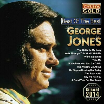 George Jones - Best of the Best CD [NEW] FREE SHIPPING!