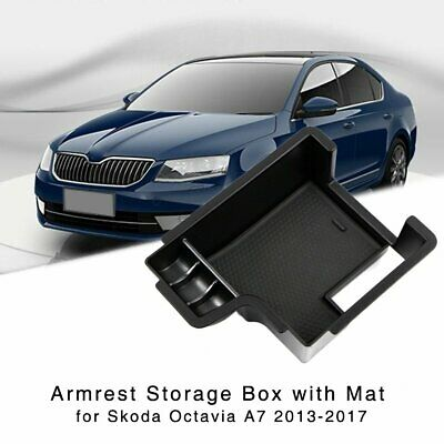 New Armrest Storage Box for VW Tiguan MK1 2009-2017 Central Console Glove Tray