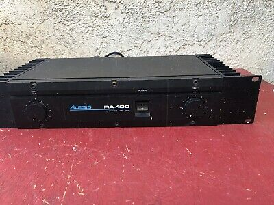 Alesis RA-100 Reference Stereo Power Amplifier AMP