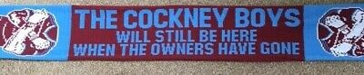 West Ham United Protest Scarf