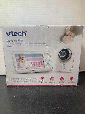 VTech VM351 Video Baby Monitor with Interchangeable Wide-Angle Optical Lens