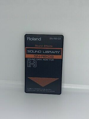 "Roland ""sound Effects"" SN-R8-03 Sound Data ROM For R-8"