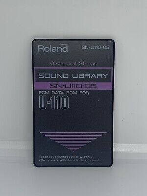 Roland Orchestral String Sound Library SN-U110-05 PCM Data ROM For U-110