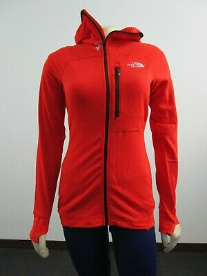 Womens The North Face Summit Series TNF L2 Proprius Grid Fleece Hooded Jacket