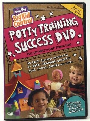 Huggies Pull-Ups Potty Training Success (DVD, 2010)