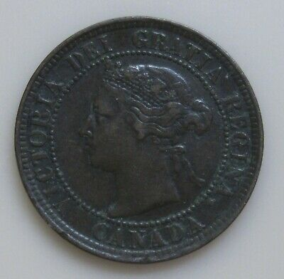 1888 Canada Large Cent-Very Nice Details