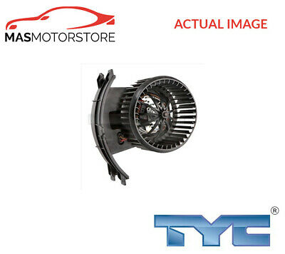 Interior Blower Fan Motor Lhd Only Tyc 537-0009 G New Oe Replacement