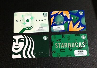"US Series Starbucks /""YOU SHAM ROCK 2020"" Gift Card WITH BLACK MAG STRIPE"
