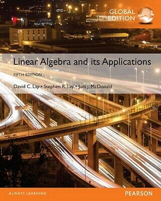 NEW 3 Days to AUS Linear Algebra and Its Applications 5E David C Lay 5th Edition