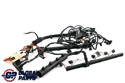 *BMW 7 Series E65 730i Petrol M54 Engine Wiring Loom Harness Automatic 7527418