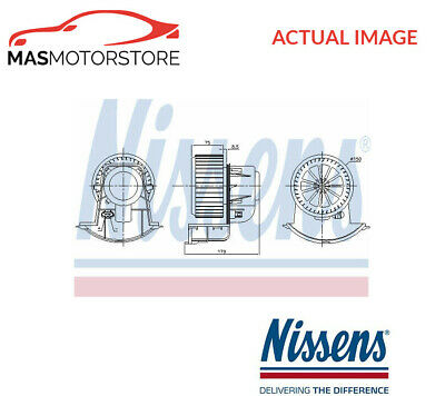 Interior Blower Fan Motor Lhd Only Nissens 87271 P New Oe Replacement