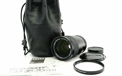 Contax Carl Zeiss Vario Sonnar T 35-70mm f/3.4 MMJ MF Zoom Lens from Japan Exc++