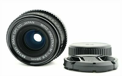 """Exc++"" SMC Pentax M 28mm f/2.8 MF Wide Angle Prime Lens for K Mount from Japan"