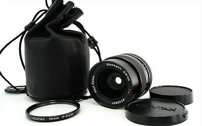 Contax Carl Zeiss Distagon 25mm f/2.8 T* AEG MF Lens For C/Y Mount from Japan