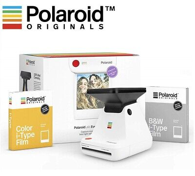 Everything Box for Polaroid Lab Photo Printer w/ I-type color & BW Instant Film