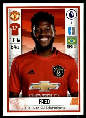 Panini Football 2020 - Fred (Manchester United) No. 391