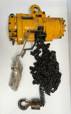 Ingersoll Rand Ml500K Pneumatic Air Chain Hoist 1/2 Ton 500 Kgs 28 Ft. Chain Uu