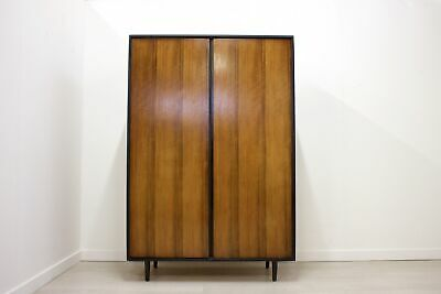 DELIVERY £70 Mid Century Retro Walnut Wardrobe by John & Sylvia Reid for Stag