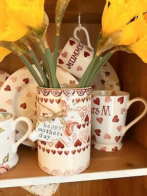 Emma Bridgewater Themed Handmade Clay Tags - Rose & Bee - Mother's Day