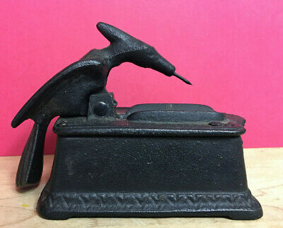 Cast Iron Bird Toothpick Holder/Dispenser woodpecker pterodactyl LB45 Iron Art