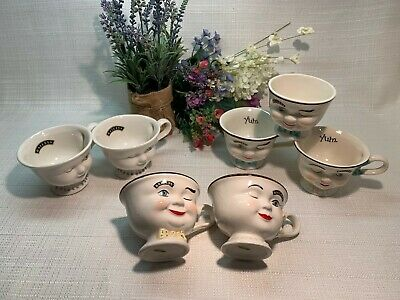 Bailey's Winking Coffee Cup 'Your Choice' ~Mr & Mrs~Also Helen Hunt~Sugar Bowl