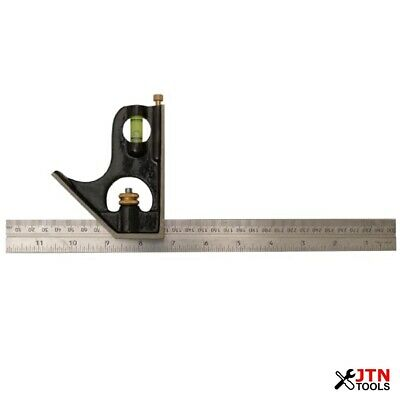 """Stanley 0-46-151 1912 Combination Square 300mm (12"""")"""