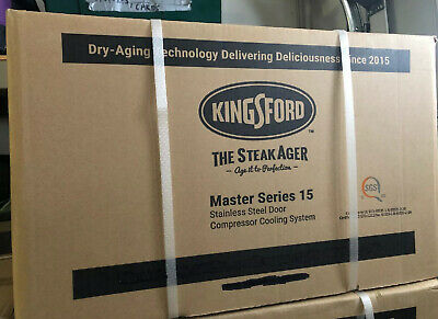 KINGSFORD SteakAger Dry Steak Aging Fridge Series 15 *NEW*  NIB