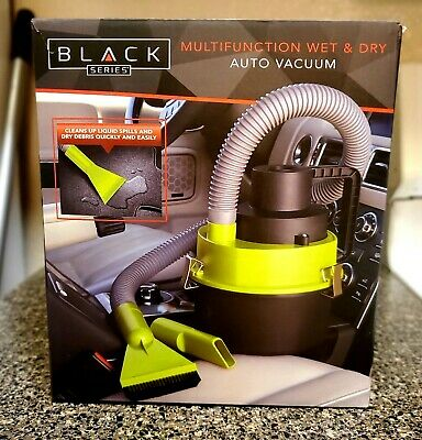 Black Series Multifunction Wet And Dry Auto Vaccum