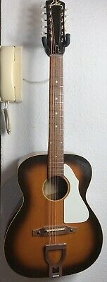 Eko Ranchero  vintage 12 string acoustic guitar. Made in Italy