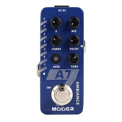 New Mooer A7 Ambiance Reverb Micro Guitar Effects Pedal