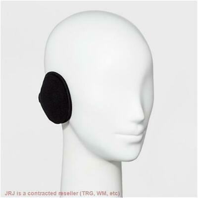 Degrees by 180s Mens Discovery Ear Warmers Black Fleece Behind Head Adjustable