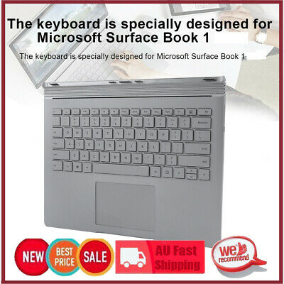 Replacement Book Base Multifunctional Keyboard All Keys for Surface Book 1
